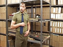 men in uniform gay porn - hot gay twinks fuck